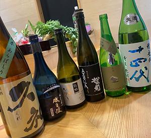 日本酒こだわりの仕入れ